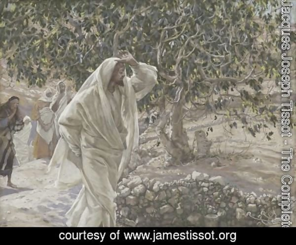 James Jacques Joseph Tissot - The Accursed Fig Tree