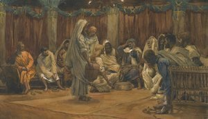 James Jacques Joseph Tissot - The Washing of the Feet