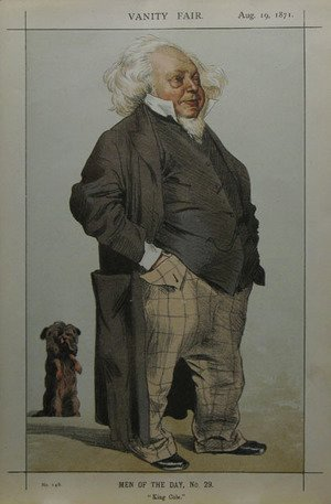 Caricature of Henry Cole