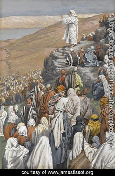 The Sermon on the Mount, illustration for 'The Life of Christ'