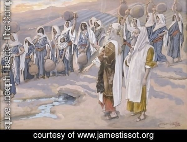 Moses Smiteth the Rock in the Desert