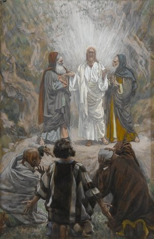 James Jacques Joseph Tissot - The Transfiguration (La transfiguration)