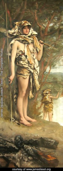 James Jacques Joseph Tissot - Prehistoric Women 2