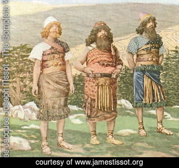James Jacques Joseph Tissot - Shem, Ham and Japheth