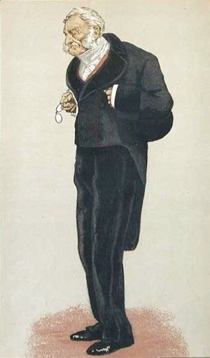 Caricature of William Bathurst, 5th Earl Bathurst