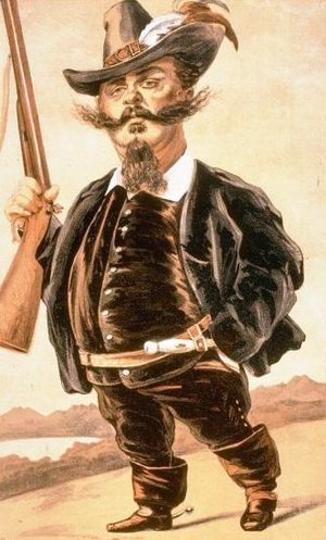 James Jacques Joseph Tissot - Caricature of Victor Emmanuel II of Italy