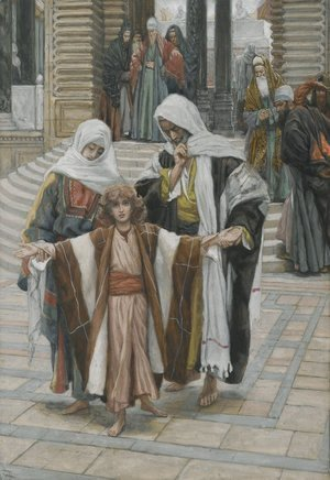 James Jacques Joseph Tissot - Jesus Found in the Temple