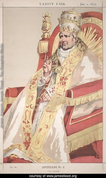 Sovereigns No.60 Caricature of Pope Pius IX