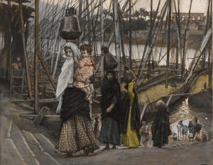 James Jacques Joseph Tissot - The Sojourn in Egypt 2
