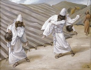 James Jacques Joseph Tissot - The Dead Bodies Carried Away