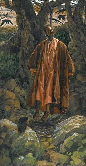 James Jacques Joseph Tissot - Judas Hangs Himself, illustration for 'The Life of Christ'