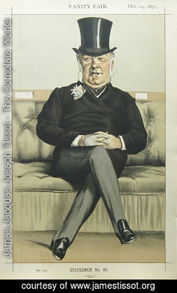 Caricature of Henry William Eaton M.P.
