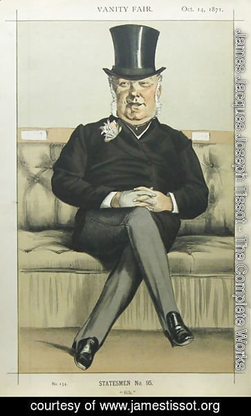 James Jacques Joseph Tissot - Caricature of Henry William Eaton M.P.