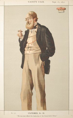 Statesmen No.930 Caricature of The Duke of Rutland