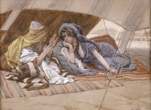 James Jacques Joseph Tissot - Abraham's Counsel to Sarai