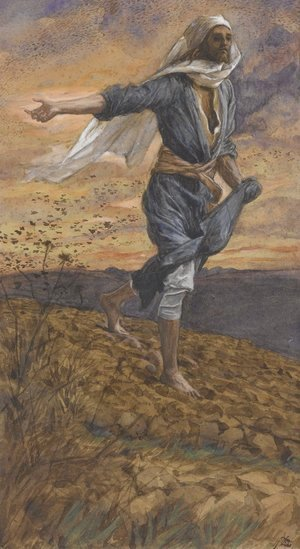 James Jacques Joseph Tissot - The Sower