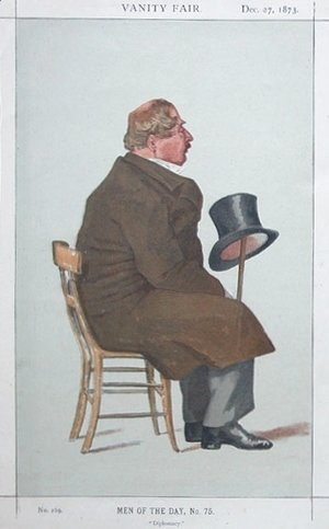 Caricature of Percy William Doyle C.B.