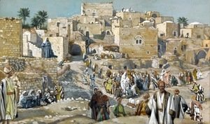 James Jacques Joseph Tissot - He Went Through the Villages on the Way to Jerusalem