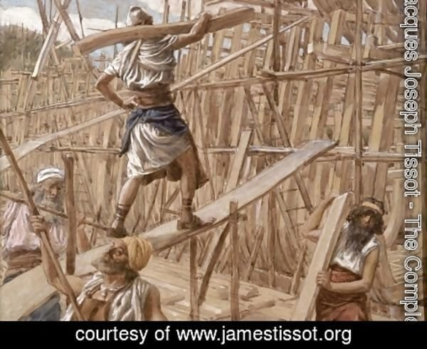 James Jacques Joseph Tissot - Building the Ark