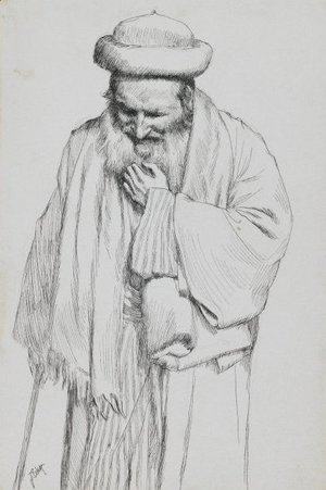 James Jacques Joseph Tissot - Type of Jew 6