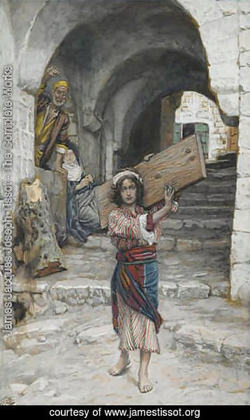James Jacques Joseph Tissot - The Youth of Jesus, illustration for 'The Life of Christ'