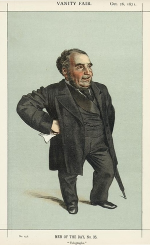 Caricature of John Pender