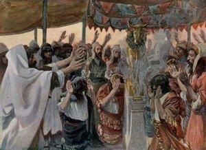 James Jacques Joseph Tissot - The Golden Calf, as in Exodus