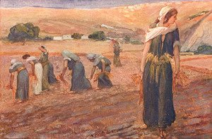 James Jacques Joseph Tissot - Gleaners, as in Deuteronomy