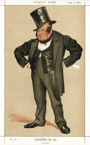 Caricature of James Delahunty M.P.
