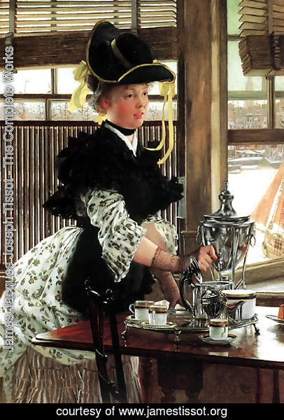 James Jacques Joseph Tissot - Tea Time