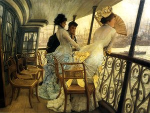 James Jacques Joseph Tissot - Remembrance Ball on Board