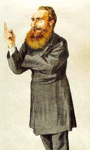 James Jacques Joseph Tissot - Caricature of Anthony John Mundella