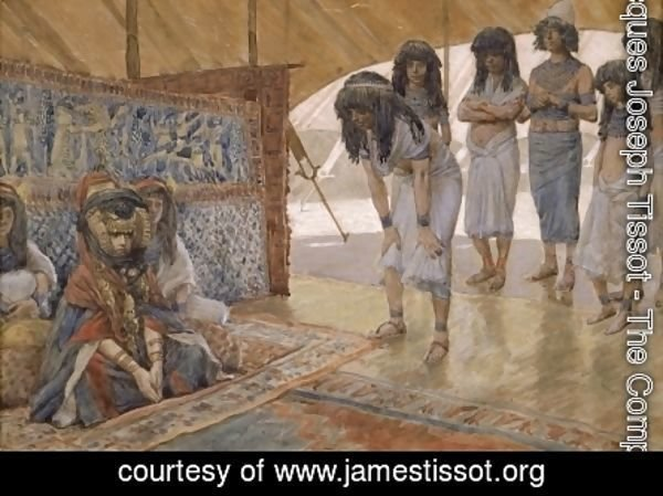 James Jacques Joseph Tissot - Sarai Is Taken to Pharaoh's Palace