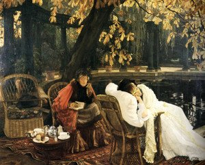 James Jacques Joseph Tissot - A Convalescent 1876