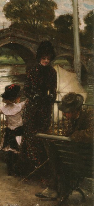 James Jacques Joseph Tissot - A Declaration Of Love