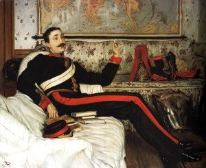 James Jacques Joseph Tissot - Captain Frederick Gustavus Burnaby
