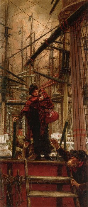 James Jacques Joseph Tissot - Emigrants
