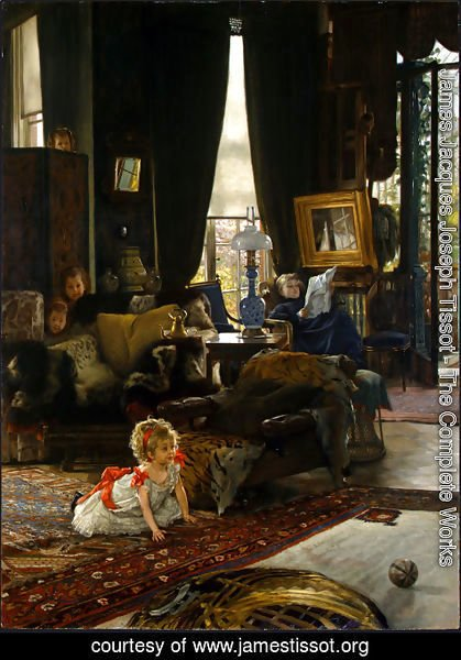 James Jacques Joseph Tissot - Hide And Seek