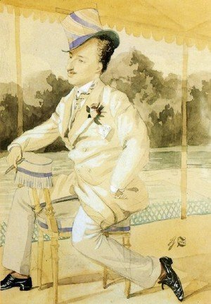 James Jacques Joseph Tissot - Jacques A Dandy