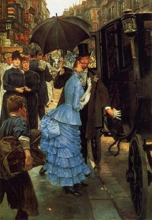 James Jacques Joseph Tissot - Jacques The Bridesmaid
