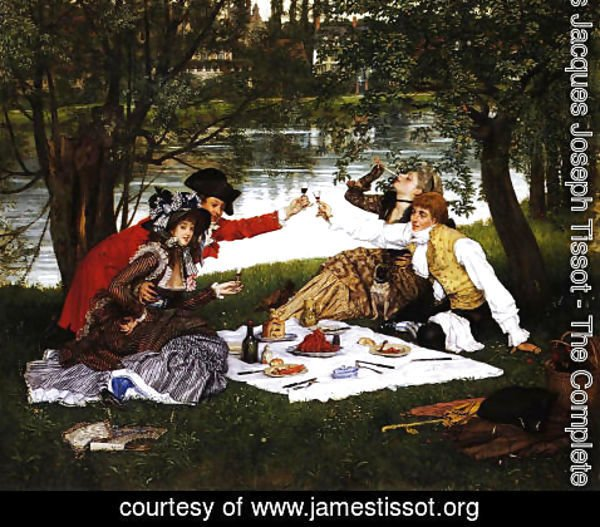 James Jacques Joseph Tissot - Partie Carree