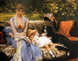 James Jacques Joseph Tissot - Quiet