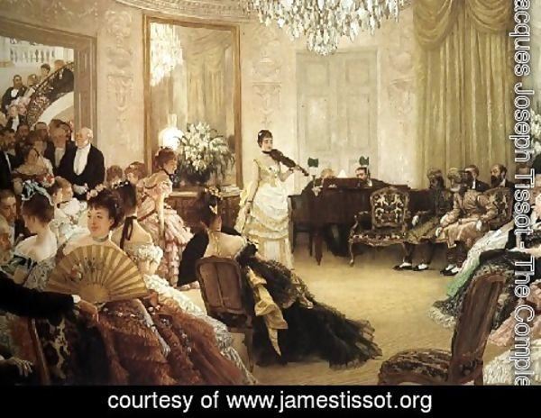 James Jacques Joseph Tissot - The Concert