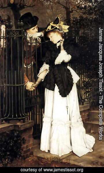 James Jacques Joseph Tissot - The Farewell