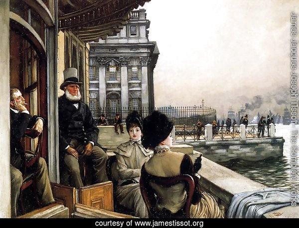 The Terrace Of The Trafalgar Tavern Greenwich London