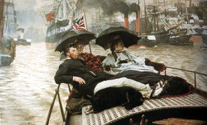 James Jacques Joseph Tissot - The Thames