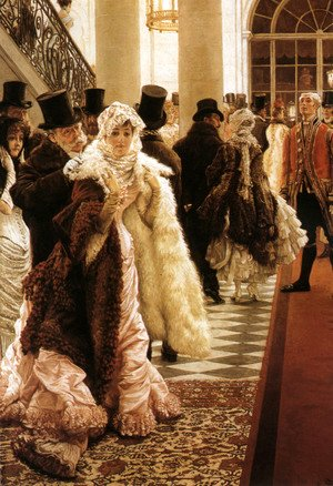 James Jacques Joseph Tissot - The Woman Of Fashion