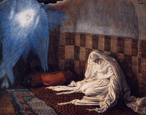 James Jacques Joseph Tissot - The Annunciation 1886-96