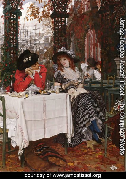 James Jacques Joseph Tissot - Un Dejeuner